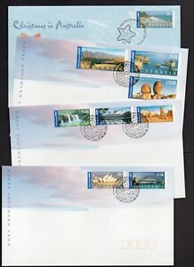 Australia Stamp FDC - 2000 Great Southern Land - set of 4 covers