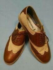 Johnston & Murphy Men's Ellington Wing Tips Linen Shoes, Size US 11.5, 20-6730