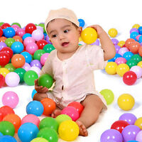 10/20/50Pcs Colorful Secure Superior Soft Plastic Ocean Ball Baby Kid Swim Toy