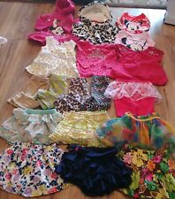 Lot Of 18 Piece Girl's Clothes Size 12M Great Brands Great Condition