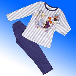 Girls Frozen 2 Pyjama Elsa Anna 100% Cotton  Age 3-8 Years