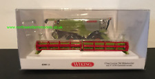 WIKING 1/87 SCALE  CLAAS LEXION 760 COMBINE HARVESTER WITH GRAIN HEADER