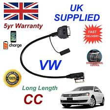 For VW CC MMI 000051446L iPhone 3gs 4 4s iPod Audio Cable Long Length 1.2m