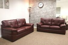 Leather Living Room Sofas Solid SCS