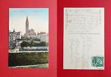 AK TEPLITZ SCHÖNAU in Böhmen 1909 Evangelische Kirche      ( 39395