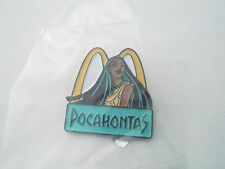 NOS Vintage McDonalds Advertising Enamel Pin #24 - POCAHONTAS