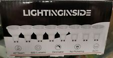 8 Pack LED GU10 7W Dimmable 75W Replacement Light Bulbs Lightingside
