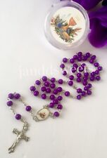 12PCS First Communion Rosary Gifts Favors Recuerdos Primera Comunion Rosarios
