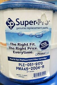 SUPER-PRO PMA45-2004-R Replacement Filter Cartridge For Master Spas EP