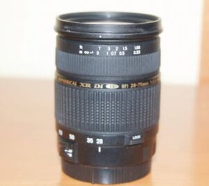 Tamron SP AF 28-75mm F/2.8 XR Di LD Aspherical [IF] Macro For Canon Camera Lens