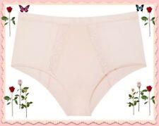 L Large Light Pink Mesh Side Victorias Secret High Waist Cheeky Pantie RETRO