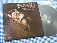 BUFFALO Only Want You For Your Body OZ 1974 1 pressing VERTIGO  AUSTRALIA