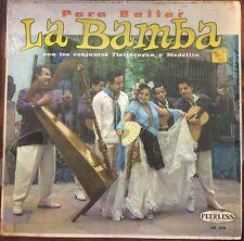 CONJUNTOS TLALIXCOYAN Y MEDELLIN PARA BAILAR LA BAMBA MEXICAN LP SONES