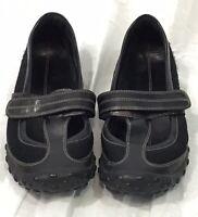 Cole Haan NIKELAB G Series Black T-strap Mary Jane Flats Women's Size 8.5 B