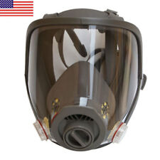 US Full Face Dusk Gas Mask Facepiece Respirator For 3M 6800 Painting Spraying 