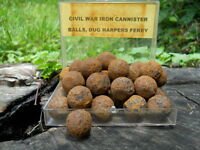 Old Rare Vintage Antique Civil War Relic Canister Shot Harper's Ferry West VA.