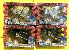 Rare Set of 4 Transformers ROTF Voyager Optimus Prime (Black, Gold and 2x Clear)