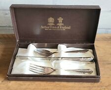 Arthur Price Childs Christening Dubarry Silver Plate  Cutlery Boxed. Unused.