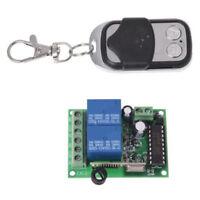 Wireless Transmitter Remote Gate 100m Control Garage 433.92mhz 2ch Fob Opener