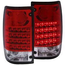 ANZO LED TAILLIGHTS REDCLEAR FITS 1989-1995 TOYOTA PICKUP 311043