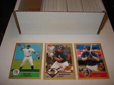2003 Topps Traded Baseball Complete GOLD Set 1-275 #D/2003 Cano Mccann