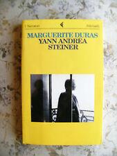 MARGUERITE DURAS: YANN ANDREA STEINER - PRIMA EDIZIONE ITALIANA