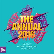 MINISTRY OF SOUND THE ANNUAL 2016 (3CD) RUDIMENTAL, AVICII, SKRILLEX, DISCLOSURE