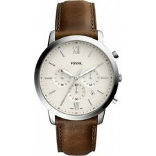 Fossil Men's Chronograph Quartz Watch with Leather Strap FS5380 RRP £200