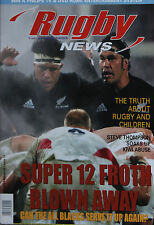 NZ RUGBY NEWS 35-17, 16 Jun 2004 Steve Thompson, Graeme Thorne, Jono Gibbes