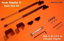 RIDGELINE G1 custom Hood Strut Kit 2006-2014 - Made in the U.S.A.