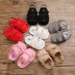 Baby Shoes Ruffle Summer Sandals Girls Infant Comfort Soft Sole Prewalker Shoes