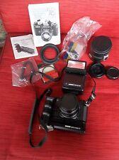 REVUEFLEX AC2 Camera w/ REVUETRON34T Flash, REVUE Auto Motor 3, ect.