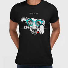 Hip Hop Camiseta perro con las gafas
