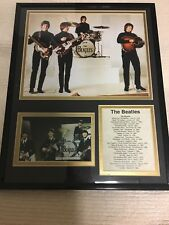 """Legends Never Die """"The Beatles"""" Framed Photo Collage 11 x 14-Inch"""