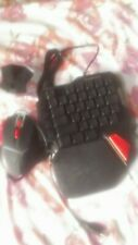 MOTOSPEED BACKLIT GAMING KEYBOARD AND MOUSE WITH VIDEO GAME