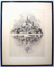 Antique (Pre-1900) Copper Plate Landscape Art Prints