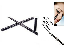 2 x Black Eyeliner Waterproof Eye Liner Pencil Pen Make Up Beauty Comestics GRAU