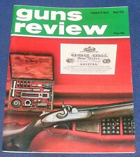 GUNS REVIEW MAGAZINE MAY 1979 - THE SIG 225 PISTOL POLICE PISTOL DELUXE