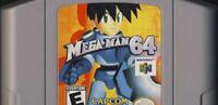 Mega Man 64 For 64 Bit - USA Version NTSC Card