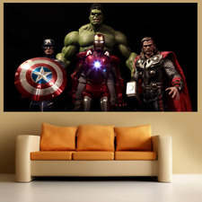 Avengers 2 Large Poster Wall Art Print Deco Home - A0 A1 A2 A3 A4