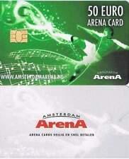 Arenakaart A142-03 50 euro: Zomer 2014