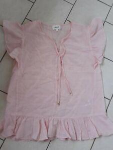 Ladies Sz 8 Seed Baby Pink Top