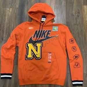 Nike Sportswear Element Hoodie Orange Air CPFM Design Men's Sz S NEW DC2722-891
