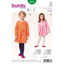 b745241b23 Burda Kids Easy SEWING PATTERN 9374 Toddlers Girls Dress 18m-6y