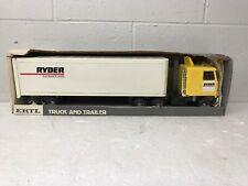 Rare Vintage Ertl Ryder Truck Rental & Leasing Part # 3187 New In Box