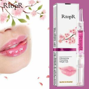 RtopR Cherry Lip Care Balm Lip Plumper Moisturizing Nourishing Lip 3ml