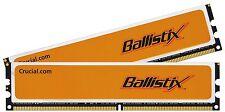 4GB (2x2GB) 800MHz Crucial Ballistix PC2-6400U CL4 Low Latency (BL25664AA80A)