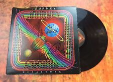GFA Neal Schon x3 Band * JOURNEY * Signed Autographed Record Album PROOF AD1 COA