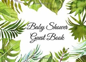 Baby Shower Guest Book: A Tropical Jungle Theme Paperback