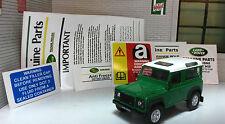 Land Rover Defender 90 110 V8 19j Pegatina Etiqueta bajo el capó MOTOR SET